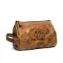 Necessaire de Couro RAM All Day Use - Crazy Horse Caramelo