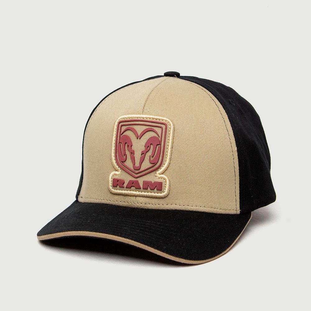 Boné RAM Patch - Preto/Bege