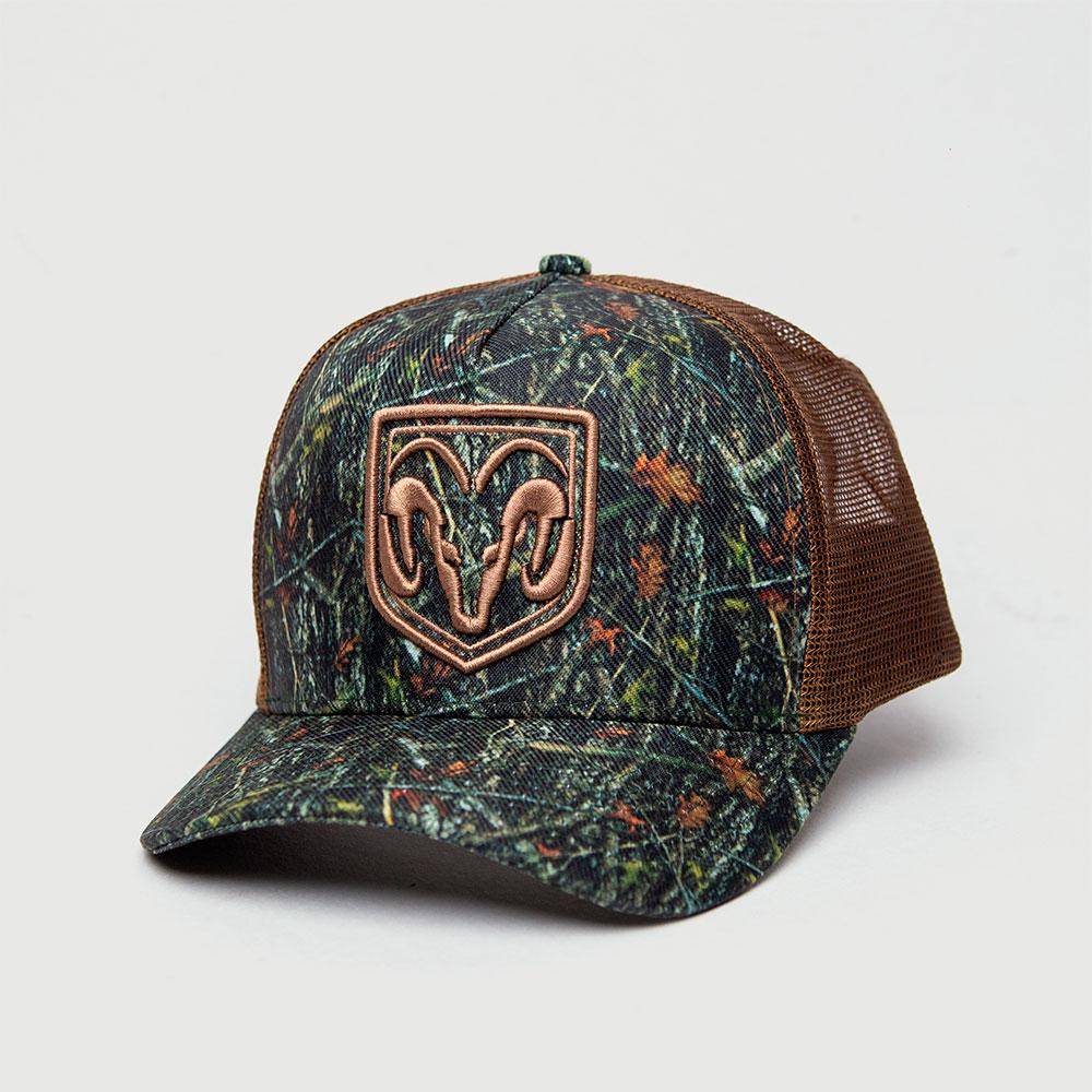 Boné Trucker RAM Hunting - Camuflado