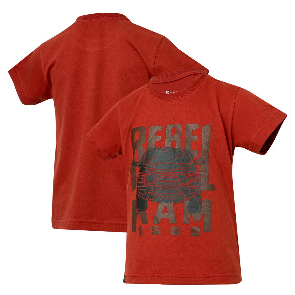 Camiseta Inf. RAM Rebel Trembling - Vermelho
