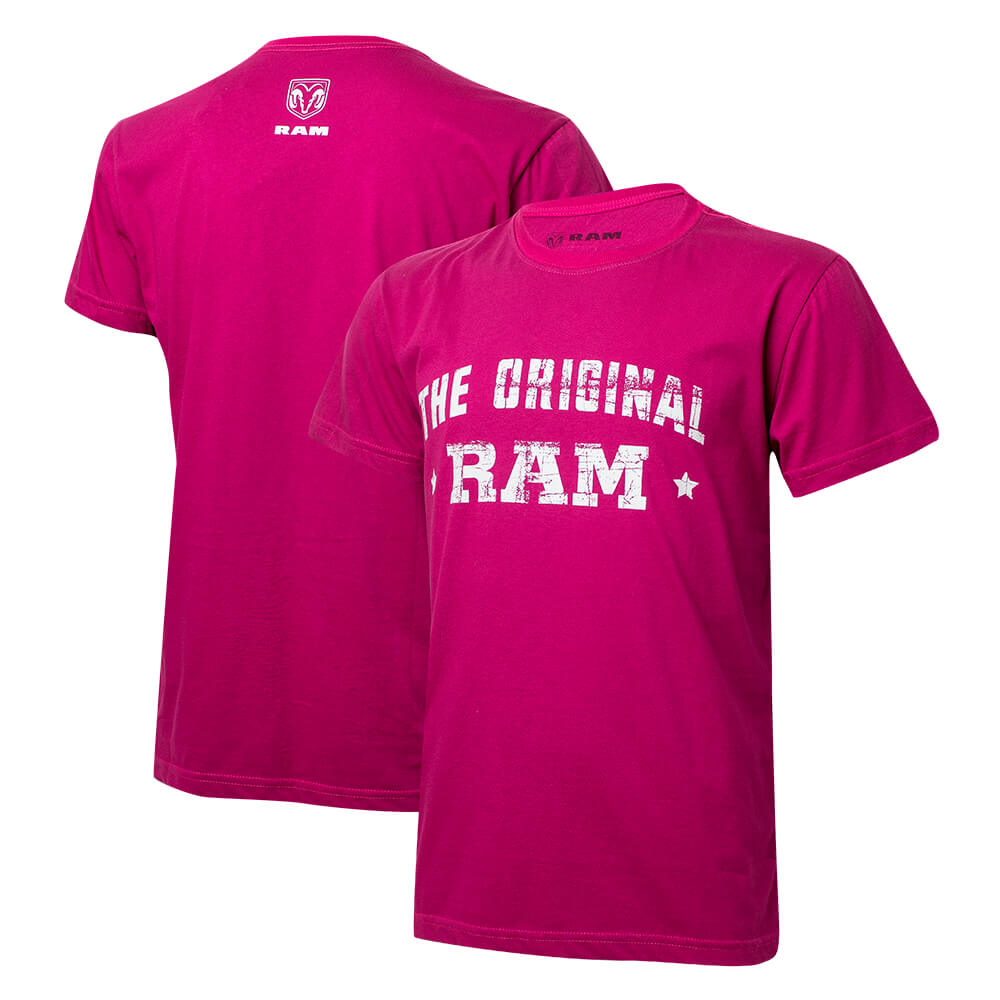 Camiseta Masc. RAM DTG The Original - Pink