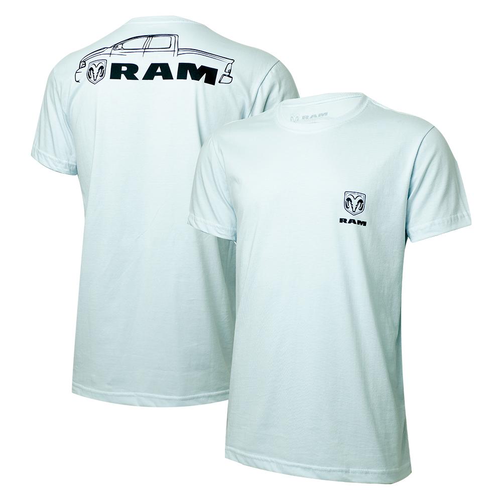 Camiseta Masc. RAM DTG Pickup - Branca