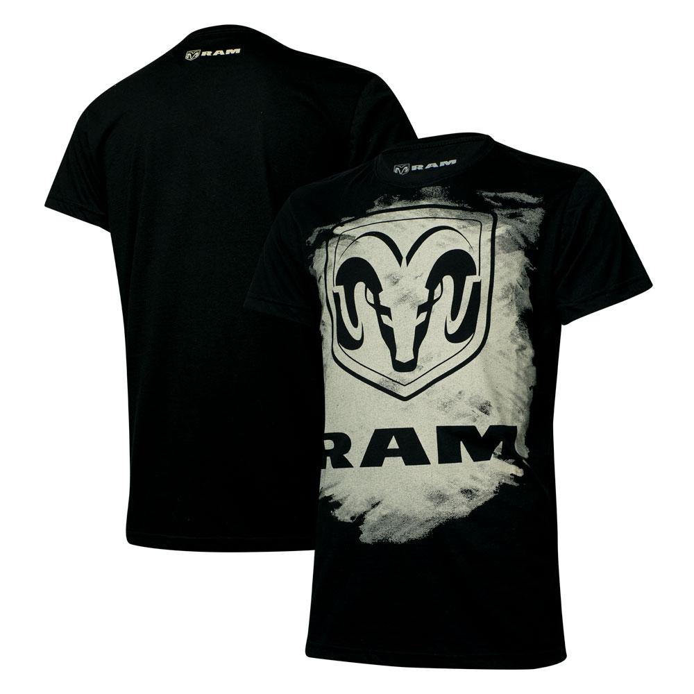 Camiseta Masc. RAM Press - Preta