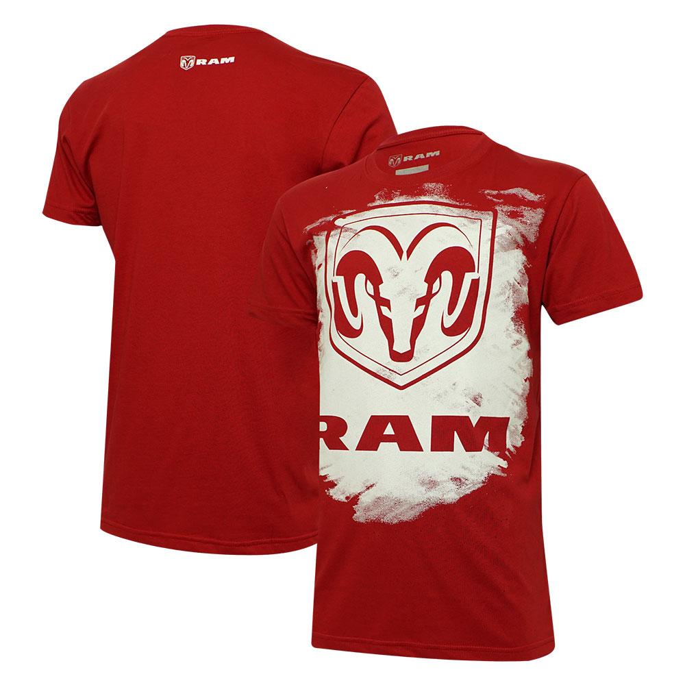 Camiseta Masc. RAM Press - Vermelha