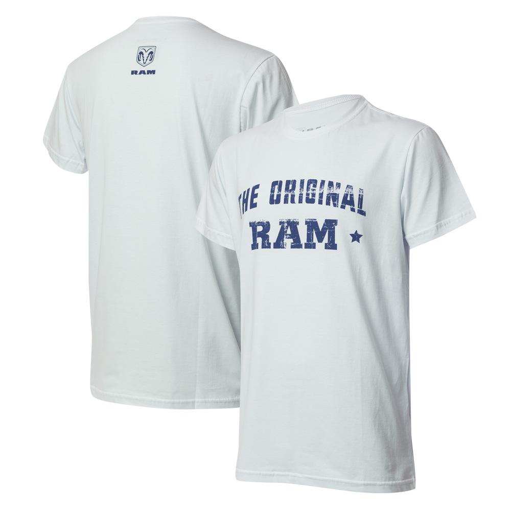 Camiseta Masc. RAM The Original - Branca