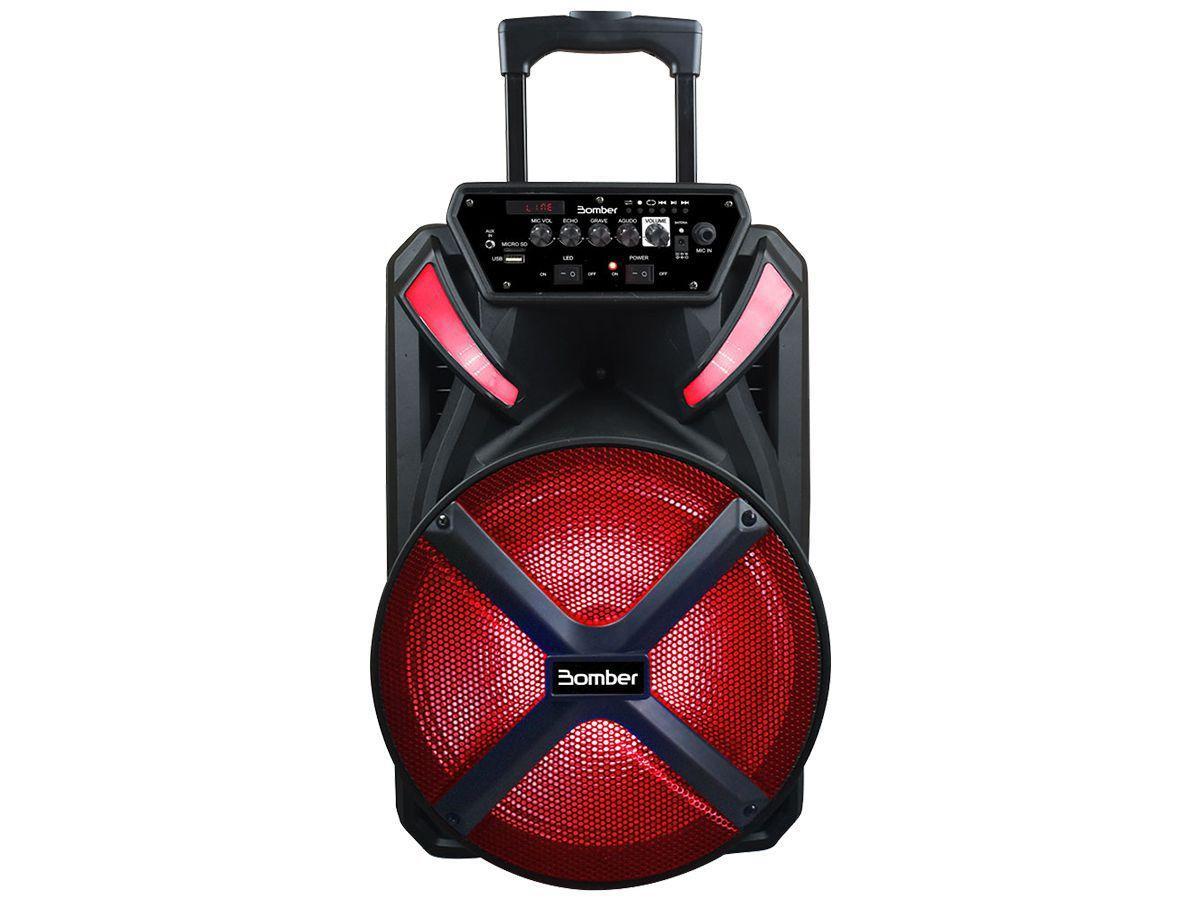 Caixa De Som Bluetooth Bomber Papão 500 12''