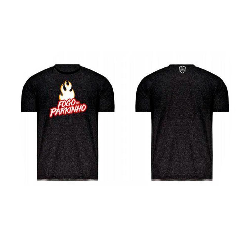 Camiseta Fogo No Parquinho Preta Treme Treme
