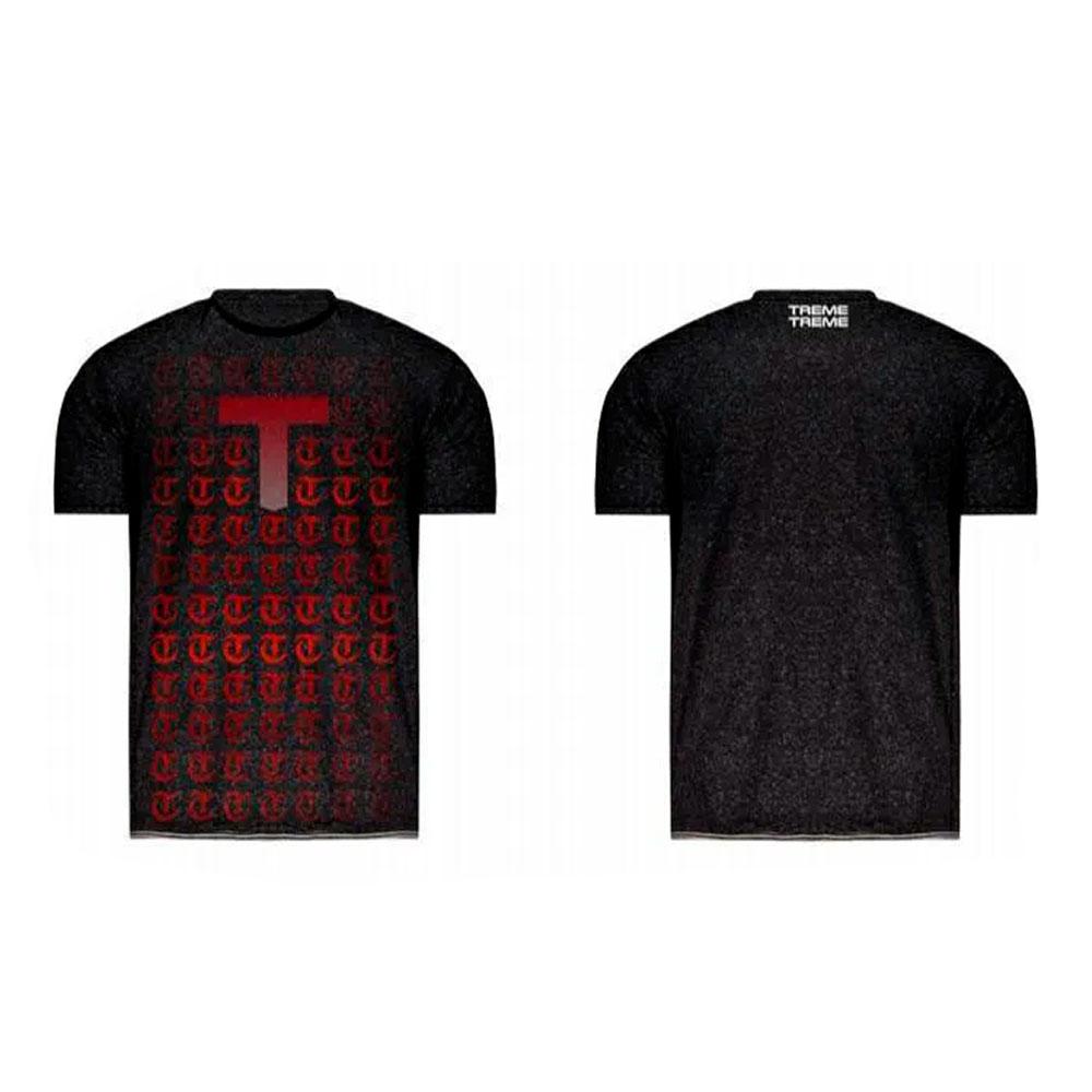 Camiseta Nova Geração Com T Vermelho Treme Treme