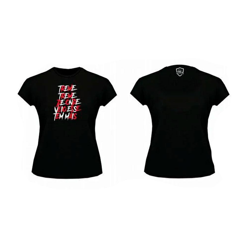 Camiseta Preta Treme Treme