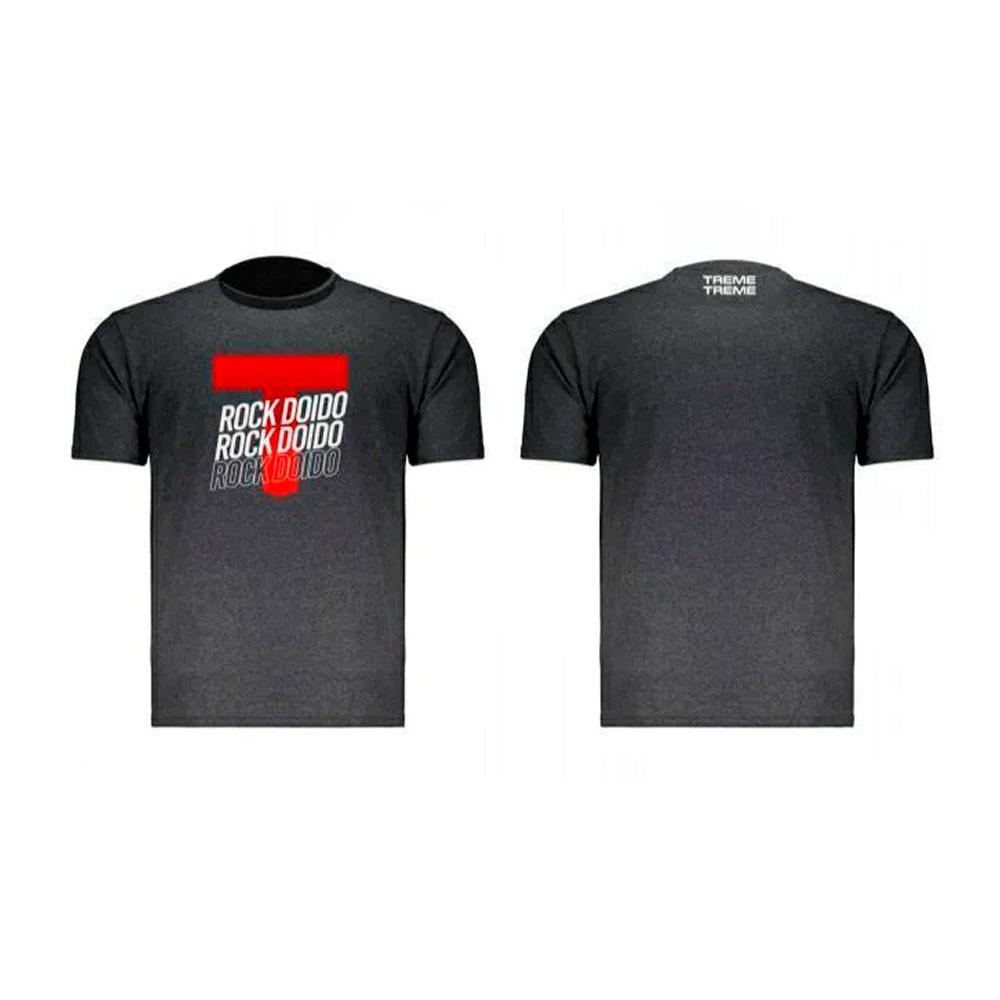 Camiseta Rock Doido Preta Treme Treme