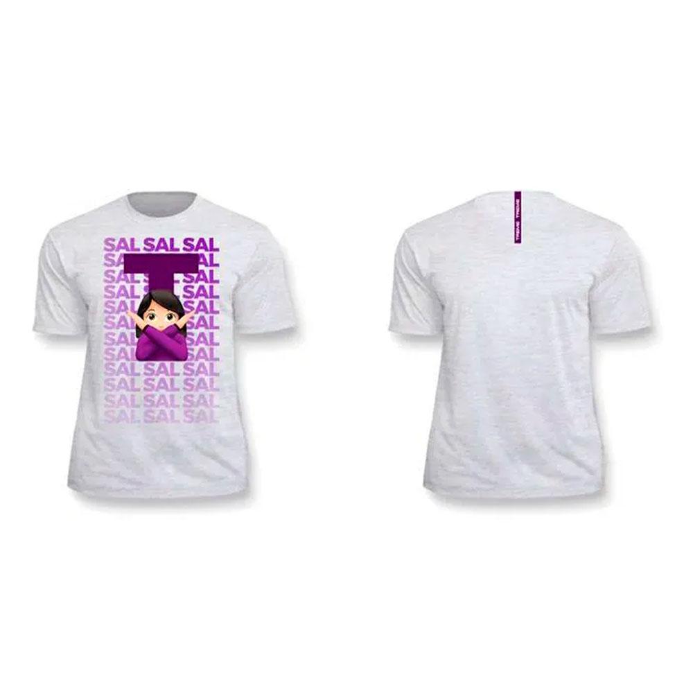 Camiseta Sal Branca Treme Treme