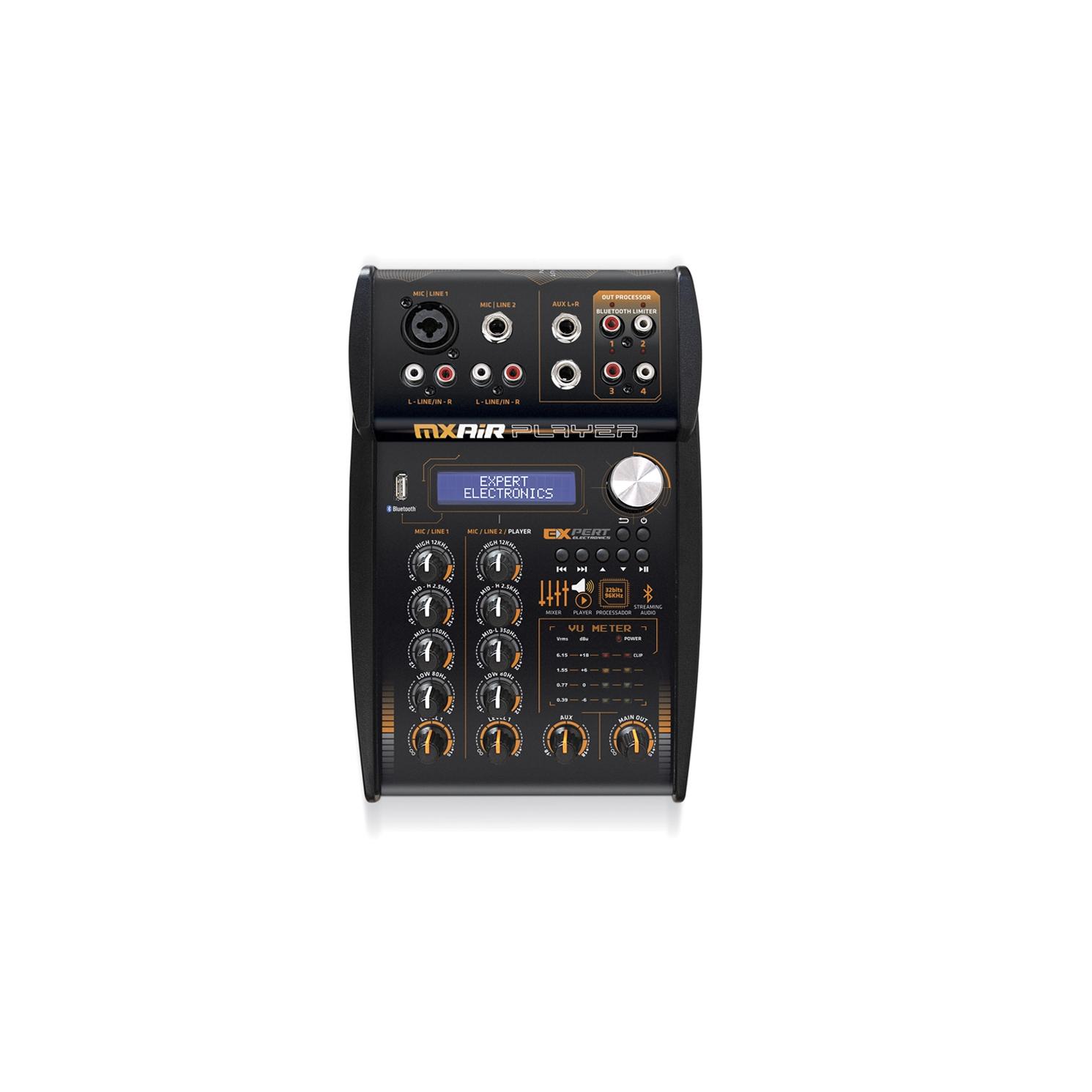 Processador Mesa Expert Mx Air Player Bluetooth Entrada USB