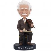 Albert Einstein Violino Bobblehead - Royal Bobbles