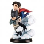 Batman e Superman World's Finest Q-Fig Max Quantum Mechanix QMX