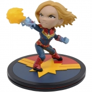 Captain Capitã Marvel Q-fig Diorama Marvel QMX