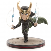 Loki - Thor: Ragnarok Q-fig Diorama Marvel Quantum Mechanix QMX