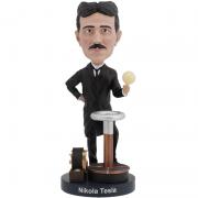 Nikola Tesla Bobblehead - Royal Bobbles