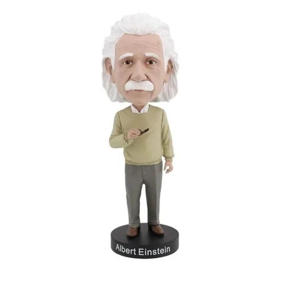 Albert Einstein Bobblehead - Royal Bobbles  - SAMERSAN Colecionaveis