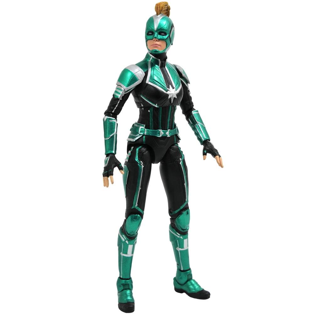 Capita Marvel Uniforme Starforce Movie Marvel Select Diamond  - SAMERSAN Colecionaveis