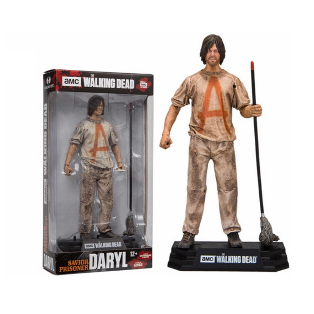 Daryl Dixon Savior Prisoner The Walkind Dead McFarlane Toys  - SAMERSAN Colecionaveis
