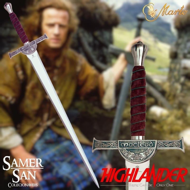 Espada Original Marto Clã Macleod Highlander PRONTA ENTREGA  - SAMERSAN Colecionaveis