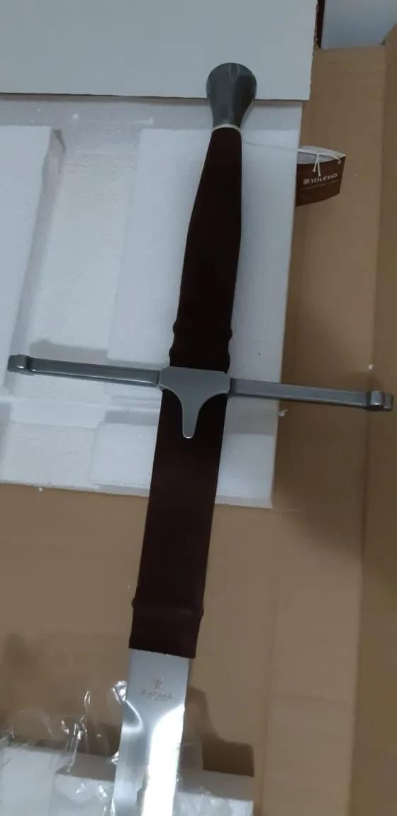 Espada Original Marto Claymore Braveheart Coração Valente  - SAMERSAN Colecionaveis