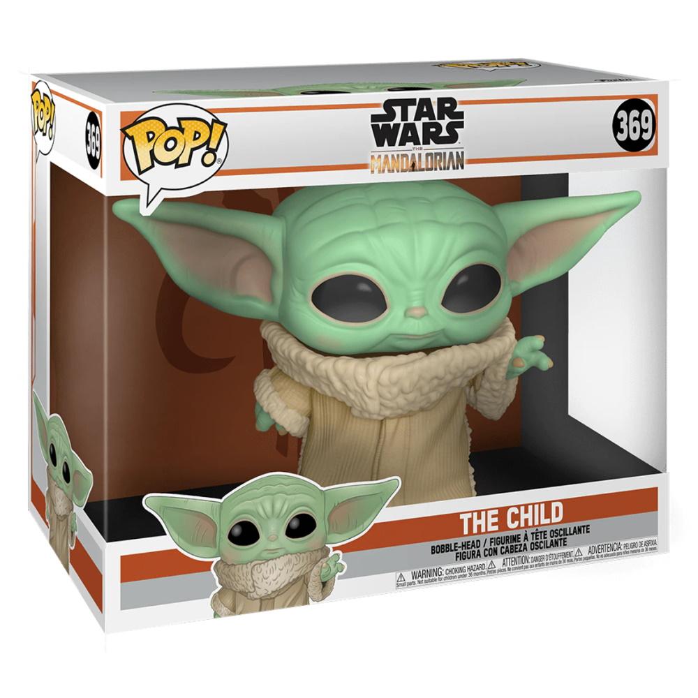 Grogu Baby Yoda Mandalorian 25cm - Funko POP Star Wars  - SAMERSAN Colecionaveis