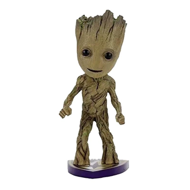 Groot Guardiões Da Galáxia Vol. 2 Marvel Head Knockers Neca  - SAMERSAN Colecionaveis