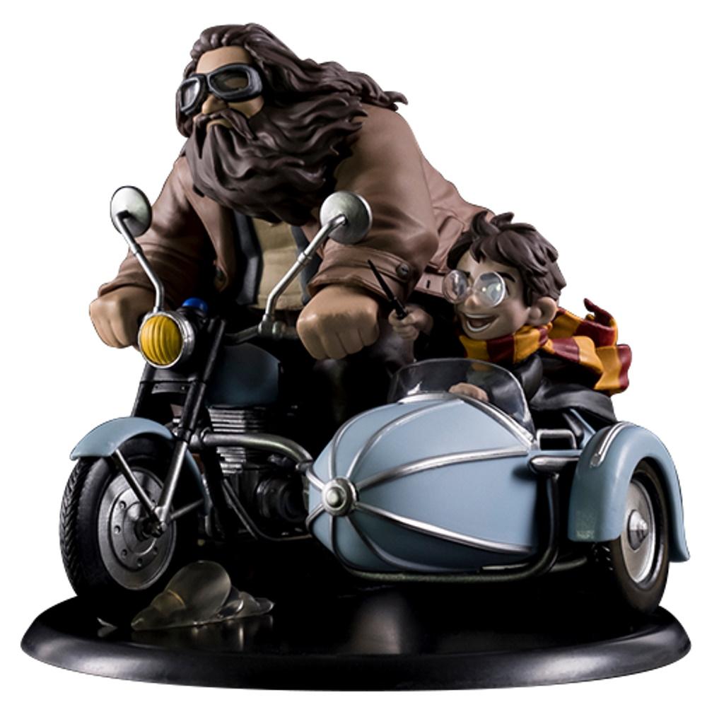 Harry Potter e Rubeus Hagrid Diorama Max Quantum Mechanix QMX  - SAMERSAN Colecionaveis