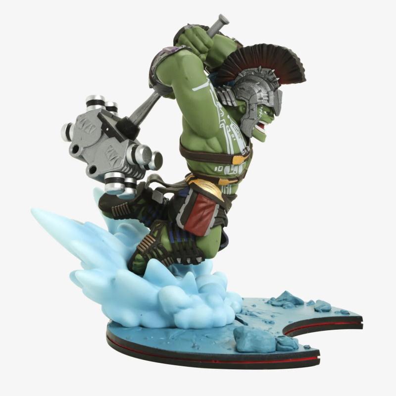 Hulk - Thor Ragnarok Q-fig Diorama Marvel Quantum Mechanix QMX  - SAMERSAN Colecionaveis