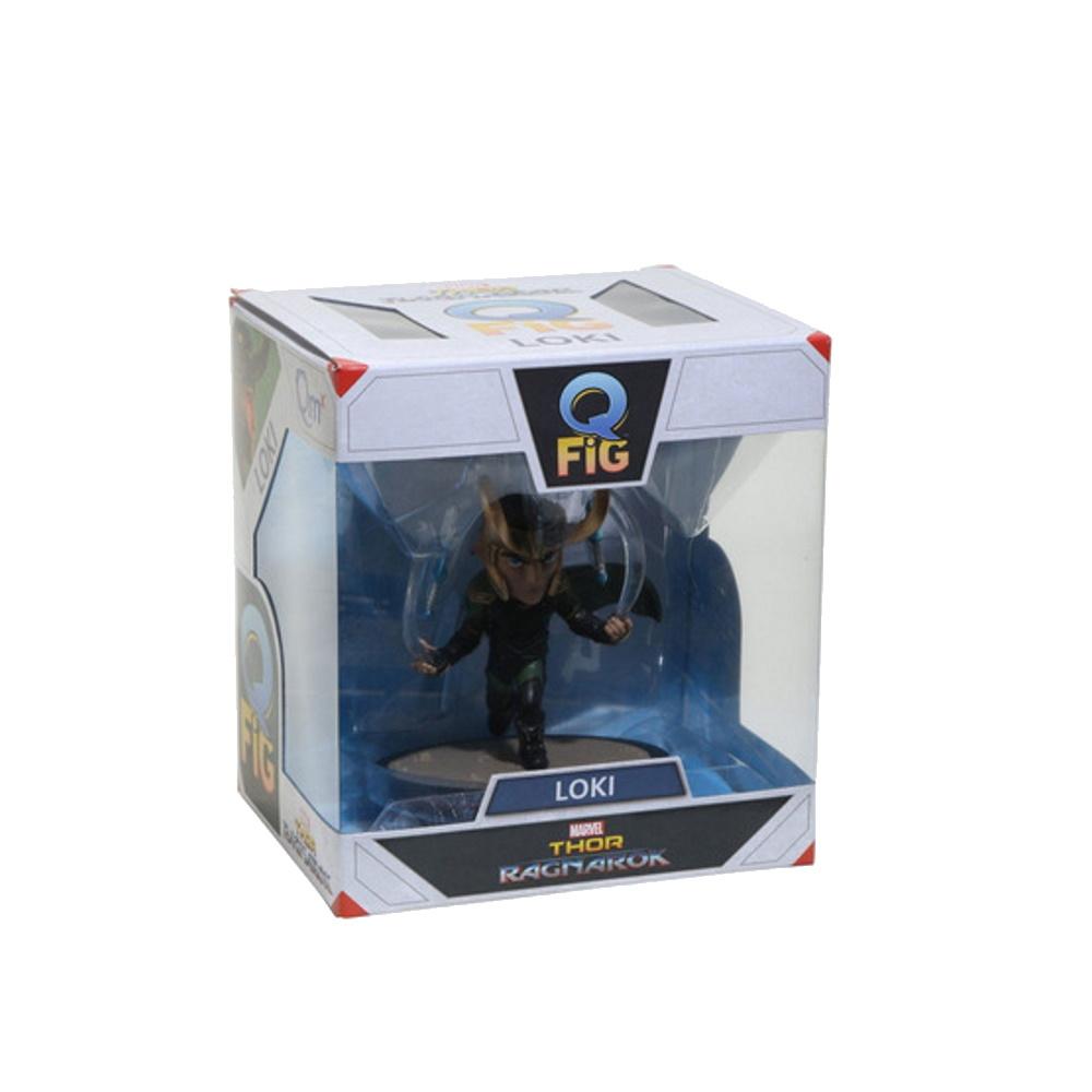 Loki - Thor: Ragnarok Q-fig Diorama Marvel Quantum Mechanix QMX  - SAMERSAN Colecionaveis