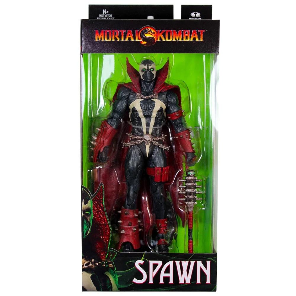 Spawn c/ Clava Mortal Kombat Series 2 Action Figure McFarlane  - SAMERSAN Colecionaveis
