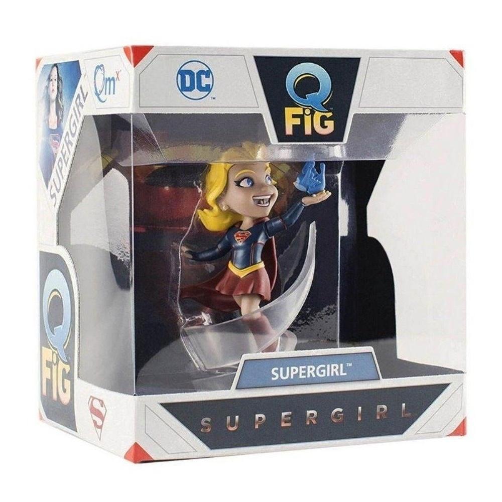 Supergirl Dc Comics - Q-fig - Quantum Mechanix QMX  - SAMERSAN Colecionaveis