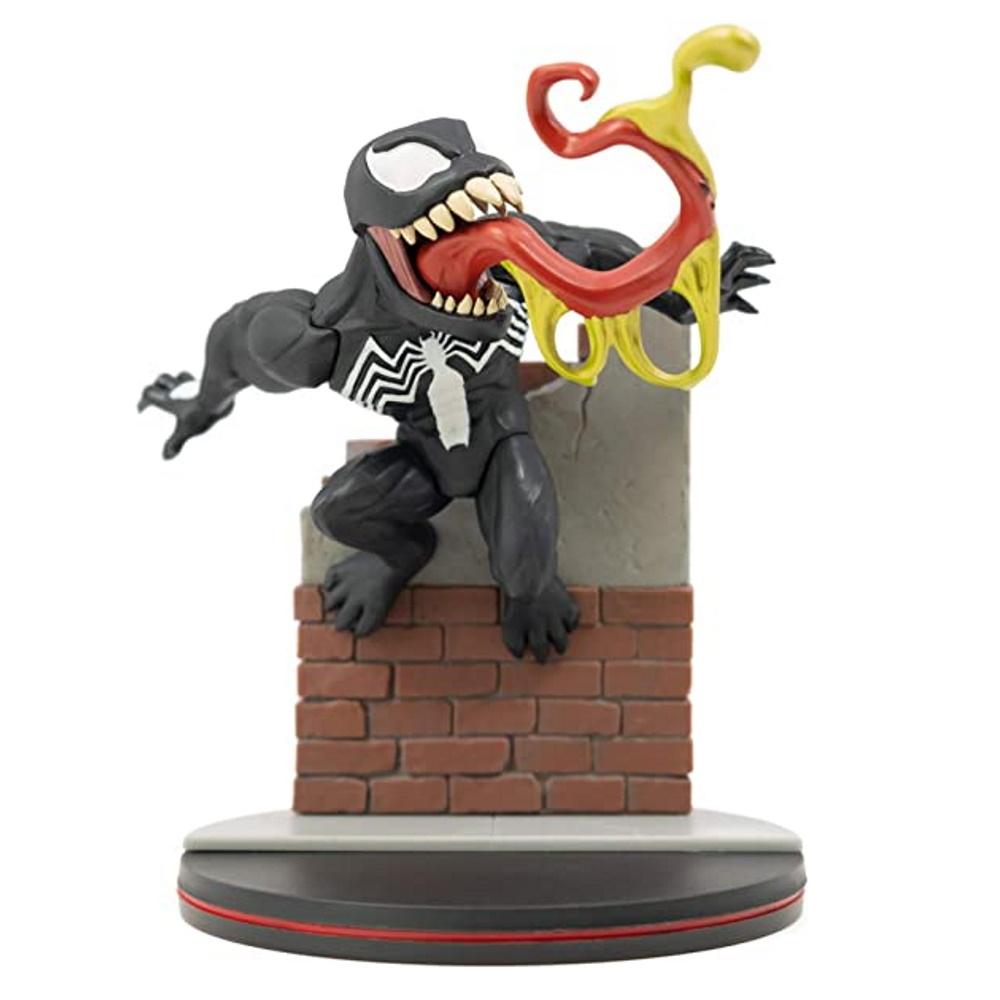 Venom MARVEL Q-Fig - Quantum Mechanix QMX  - SAMERSAN Colecionaveis