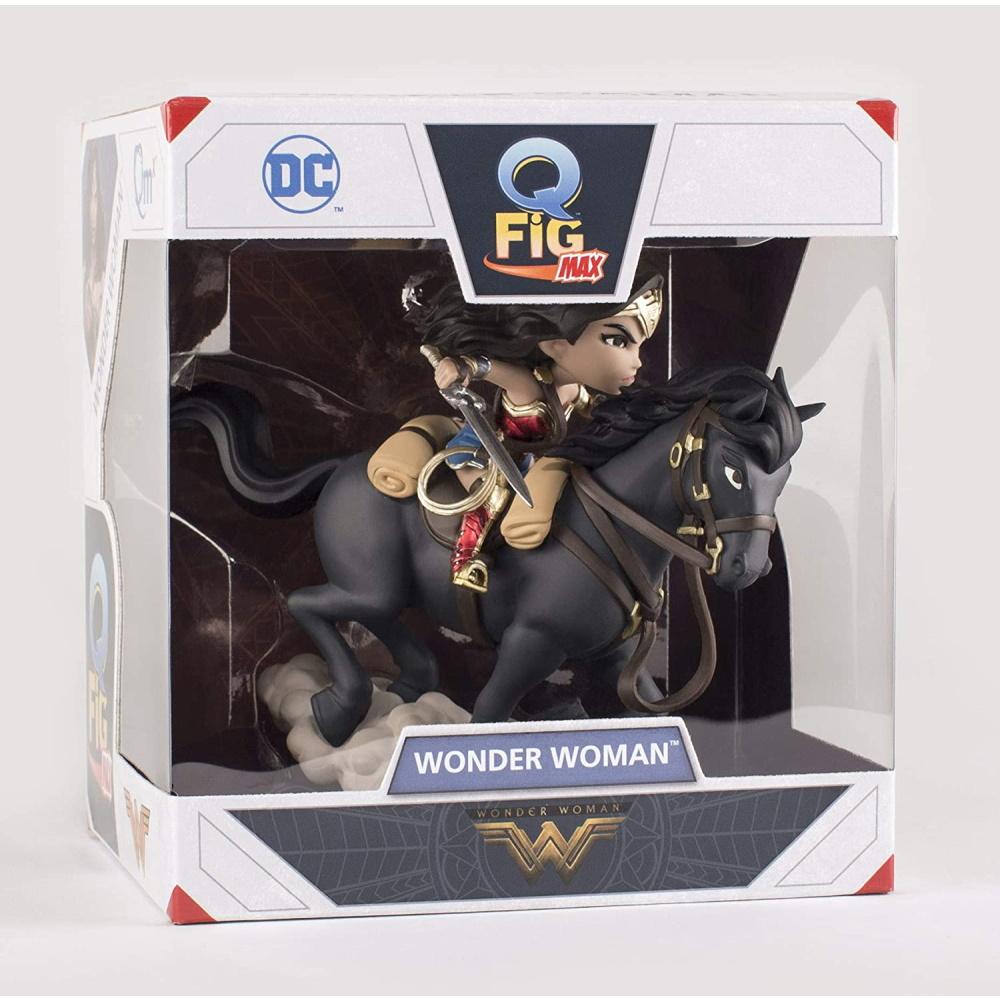 Wonder Woman Batalha Dc Comic Q-fig Quantum Mechanix QMX  - SAMERSAN Colecionaveis