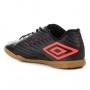 Chuteira Futsal Umbro Speed IV - Preto+Grafite