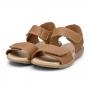 Sandália Infantil Bibi Basic Sandals Masculino Marrom