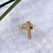 Piercing Fake Crucifixo liso