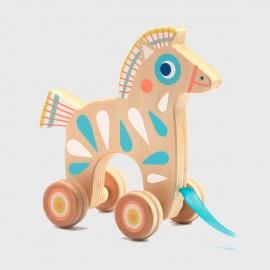 Animal em Madeira Cavalo