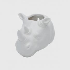 Cachepot cerâmica rino