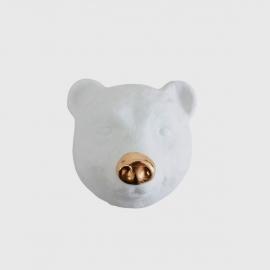 Máscara De Urso Branco