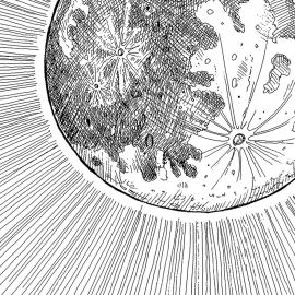 Painel lua | Regina Strumpf