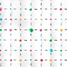Papel de parede confete | Branco Papel de Parede