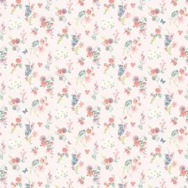 Papel de parede floral liberty