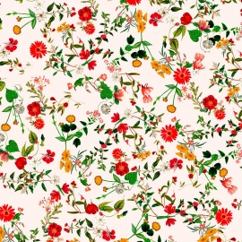 Papel de parede floral pequeno   Regina Strumpf