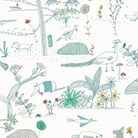 Papel de parede floresta | Sandra Jávera