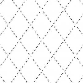 Papel de parede formigas losango | Snijder E Co