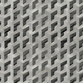 Papel de parede grafismo palha | Marcelo Rosenbaum