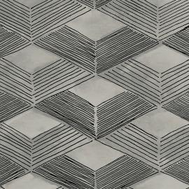 Papel de parede grafismo rede | Marcelo Rosenbaum