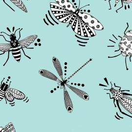 Papel de parede insetos   Ana Strumpf